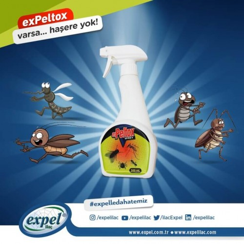 exPeltox Karasinek Sprey 500ml
