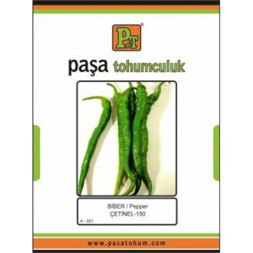 Paşa Tohumculuk Çetinel-150 biber tohumu 10 gr